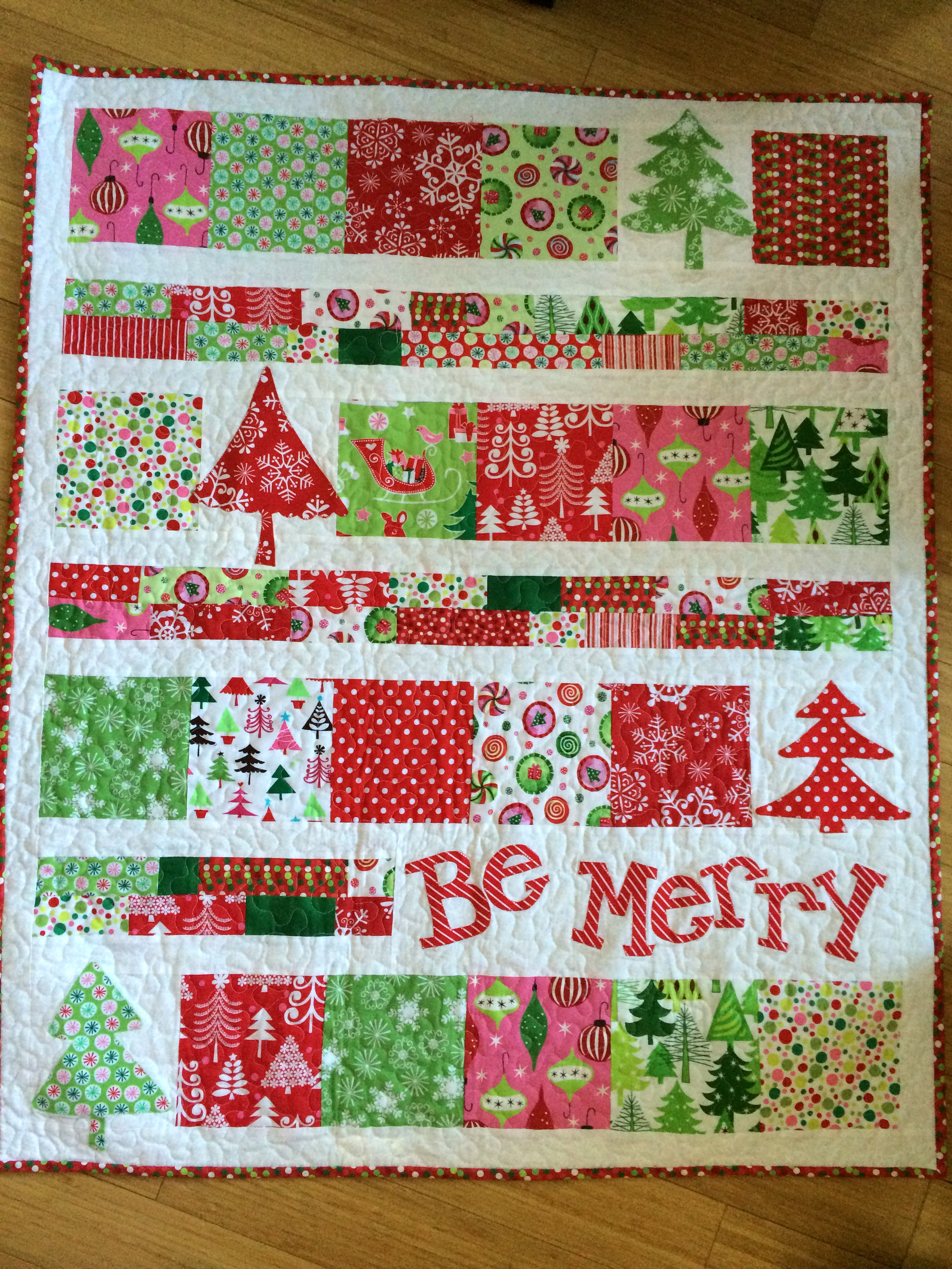 Quilting Patterns Xmas Free : Christmas Quilts