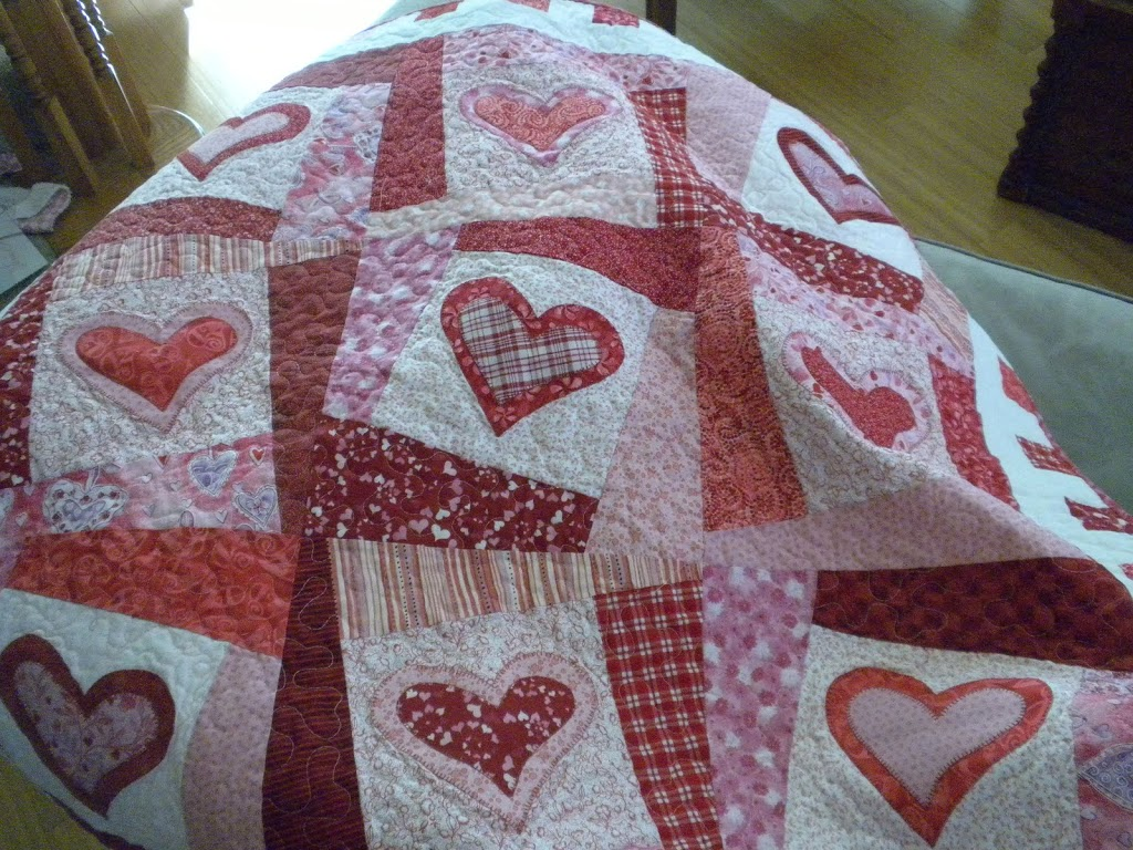A History Of My Valentine S Day Quilts