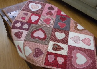 A History of my Valentine's Day Quilts