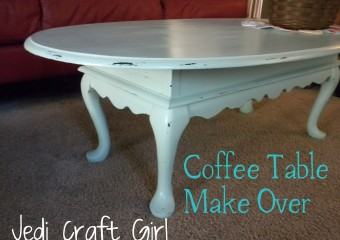 Coffee Table Re-Do!