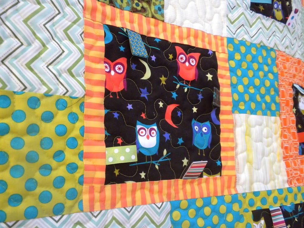 Baby Taggie Owl Quilt