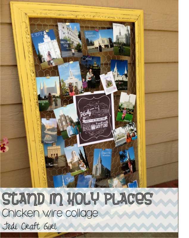 stand ye in holy places bulletin board   just b.CAUSE
