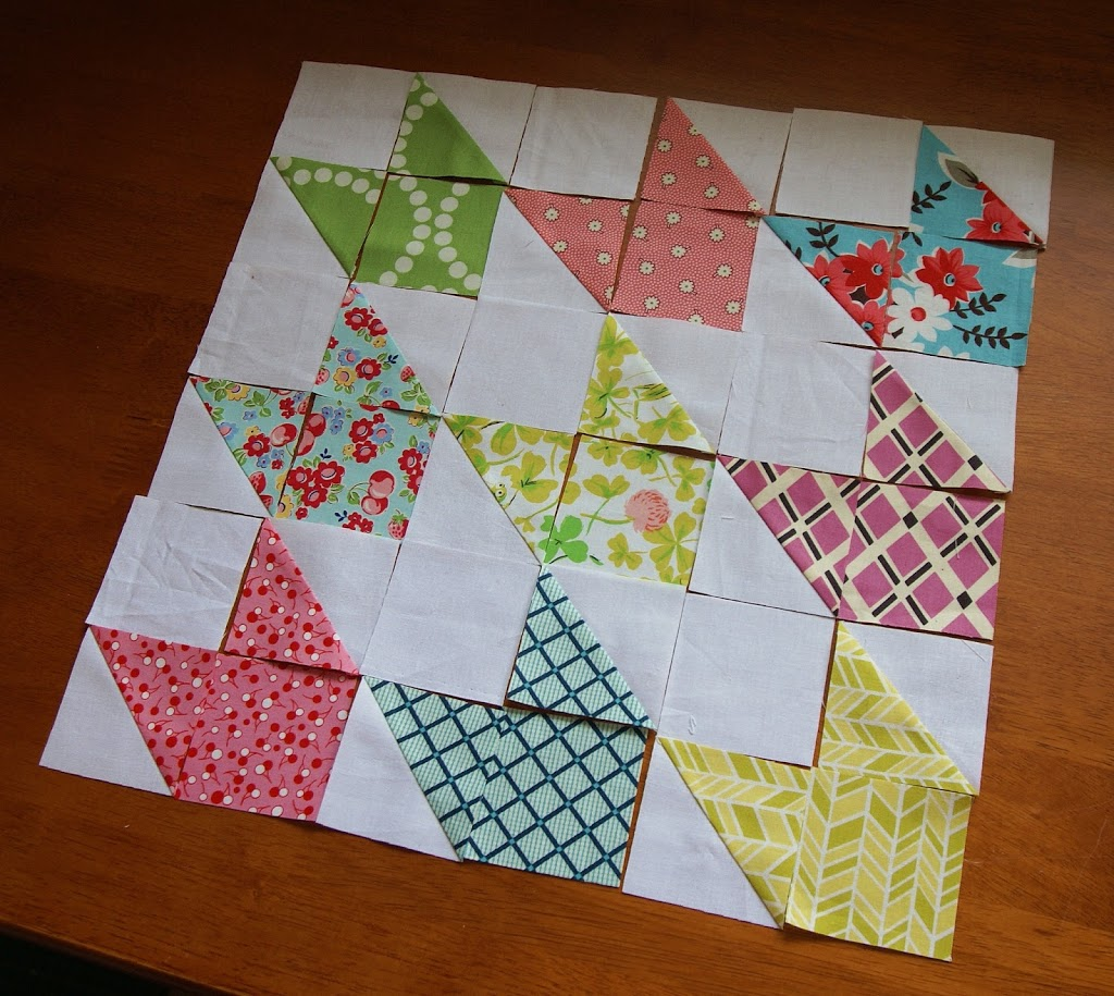 The craft blog of pattern designer Jeni Baker. Creative adventures ... : half square quilt patterns - Adamdwight.com