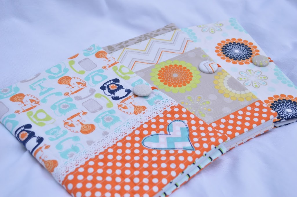 Quilted Composition Book Cover Pattern ~ Quilted composition book cover