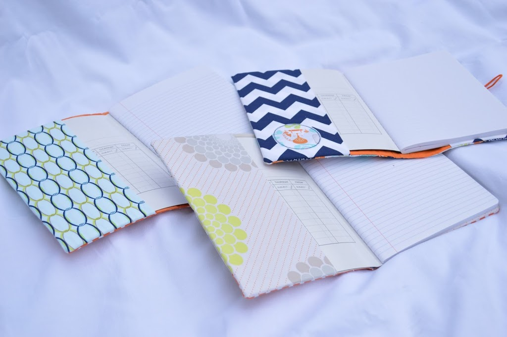 Diy Quilted Book Cover : Quilted composition book cover