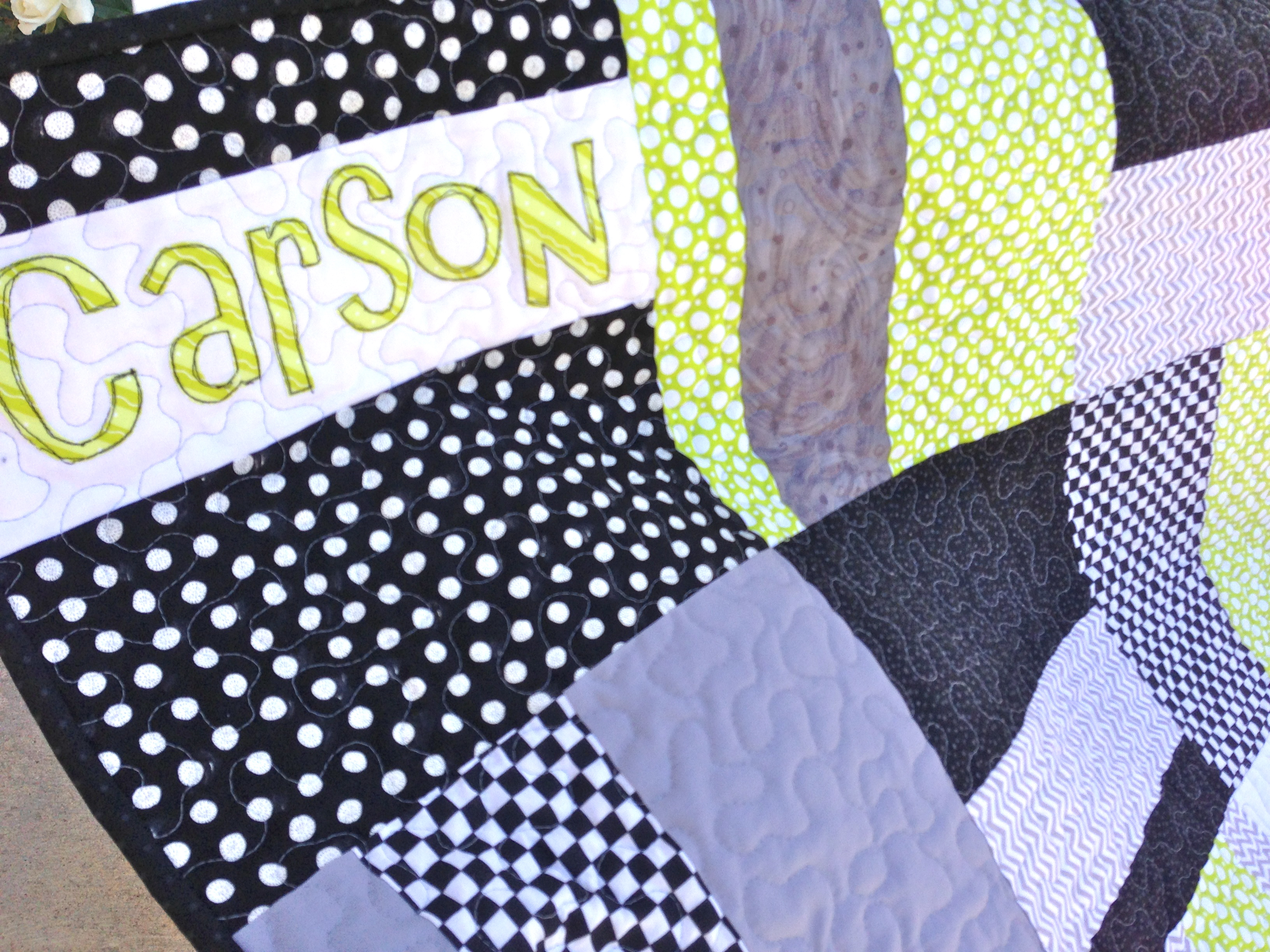 Monster Truck Baby Quilt : how to put a quilt together - Adamdwight.com
