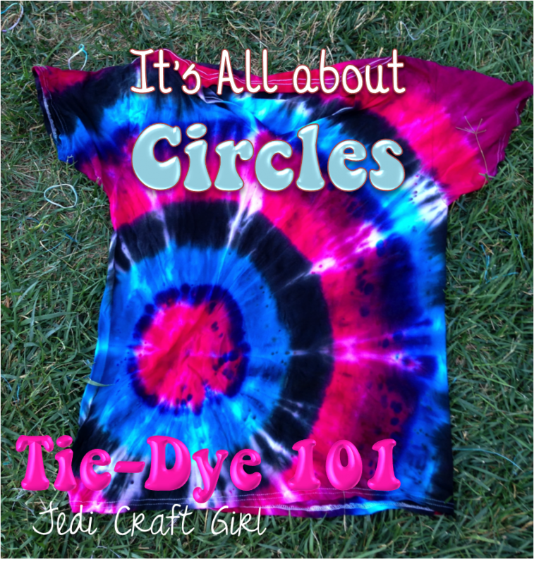 Tie Dye Folding Techniques Instructions Circle Tie Dye Instructions