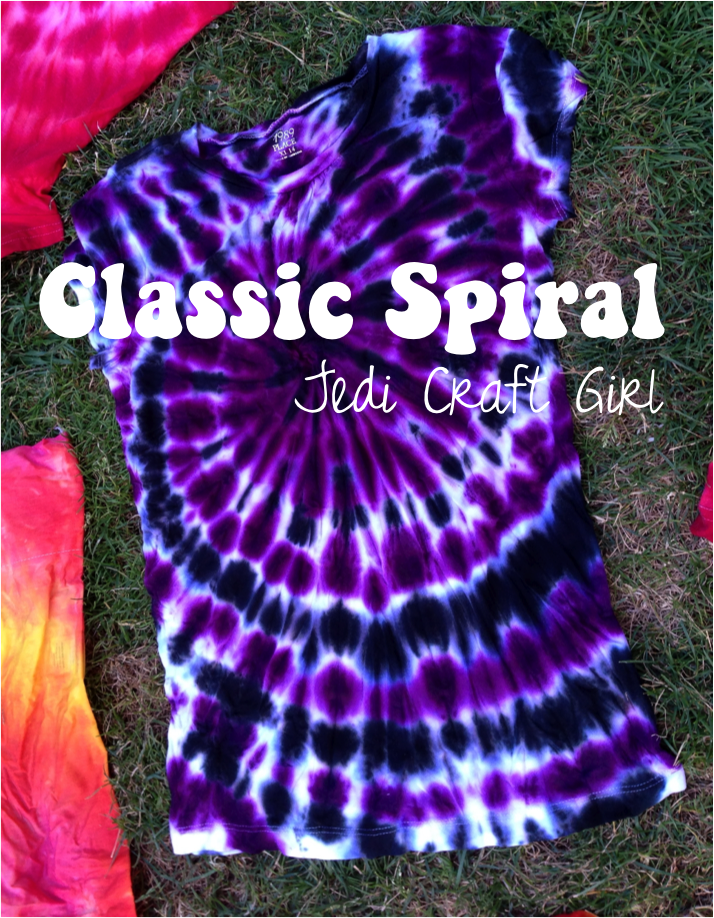 5071132caf1fdf Tie-Dye 101  the classic spiral