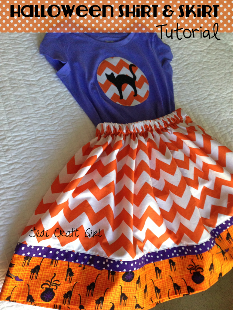 Halloween-skirt-and-shirt-tutorial