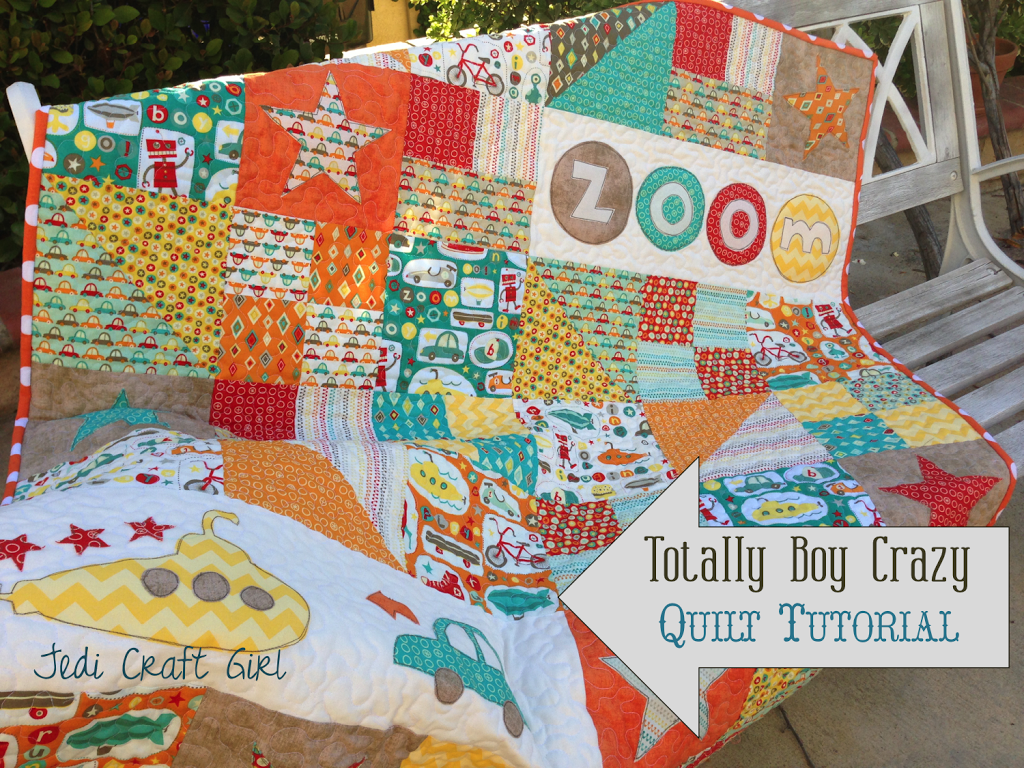 Totally Boy Crazy Quilt Riley Blake Tutorial : crazy quilt blogs - Adamdwight.com