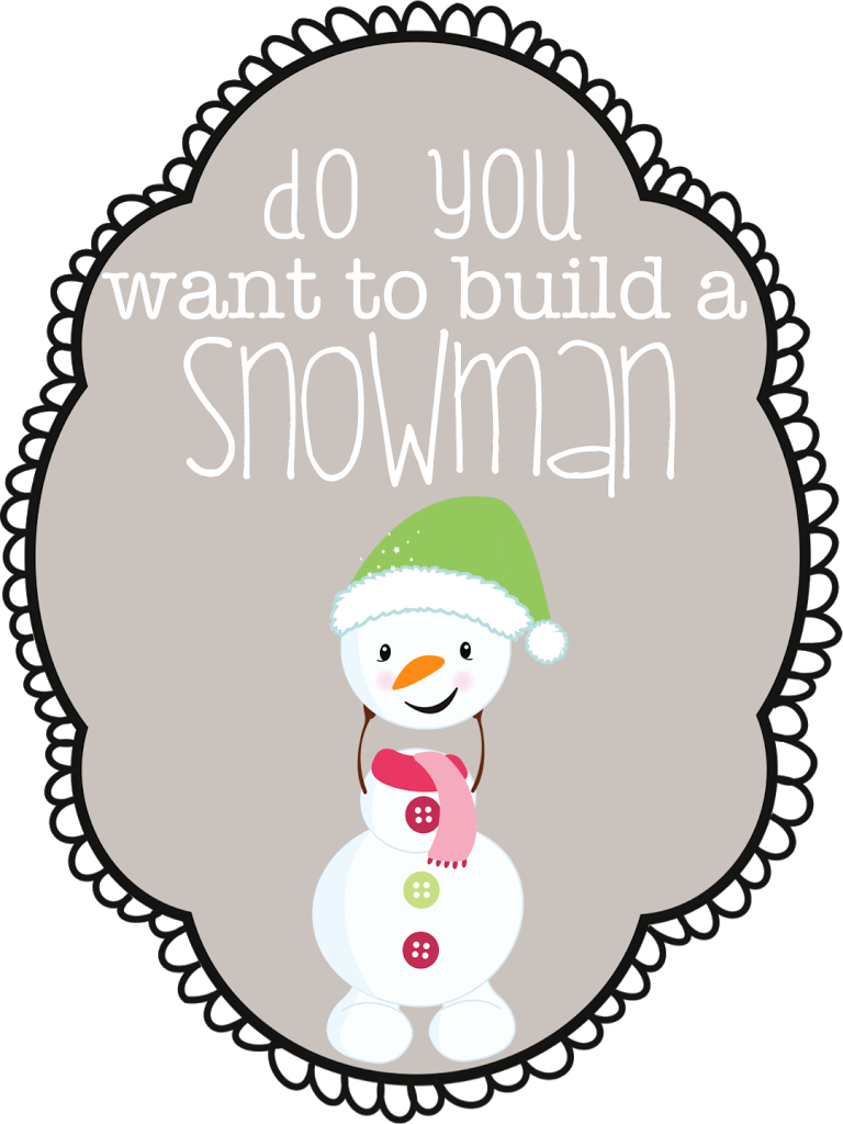 image regarding Do You Want to Build a Snowman Printable referred to as Do on your own require towards establish a snowman?