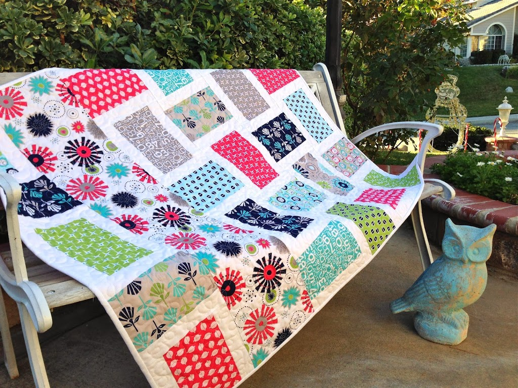 Gracie girl quilt tutorial for Quilt and craft show