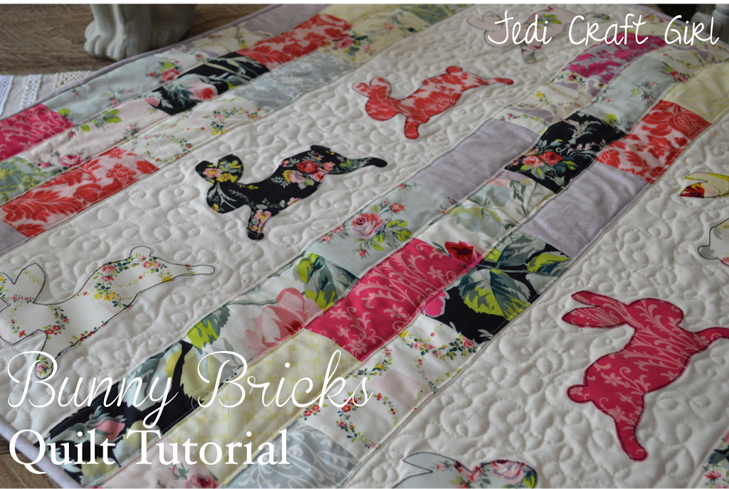Bunny Bricks Quilt Tutorial