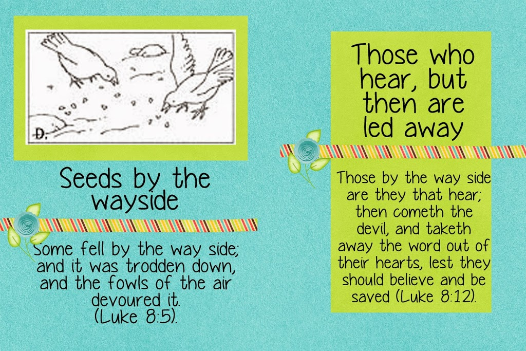 Parable of the Sower, Day #12