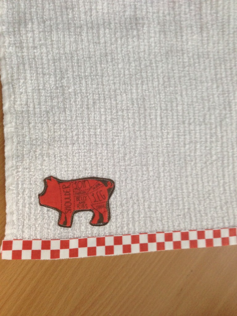father's day sewing tutorial napkin
