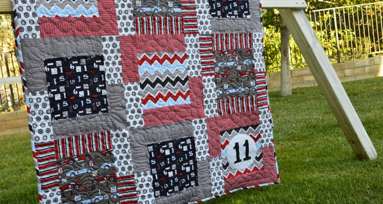 Riley Blake Speedster Quilt Tutorial