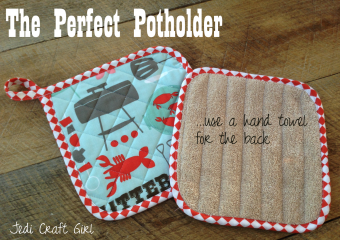 The Perfect Potholder {Father's Day Tutorial}