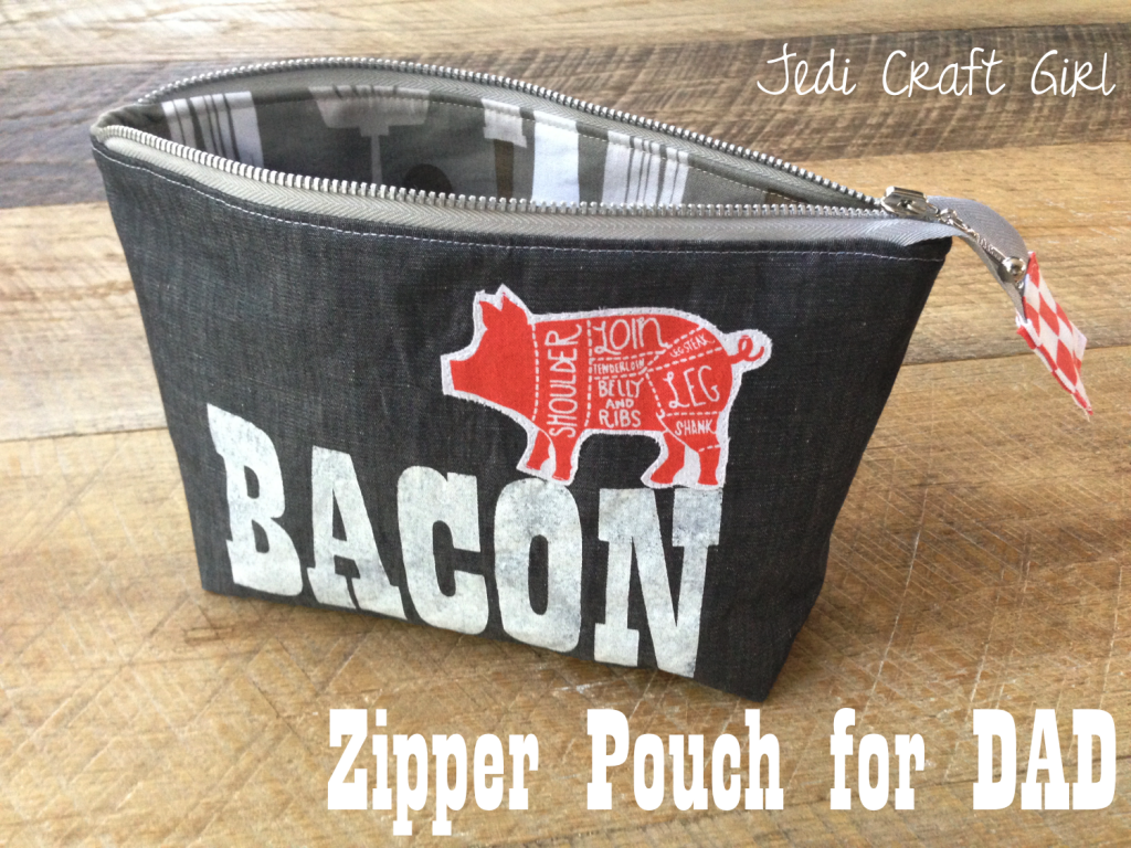zipper pouch father's day