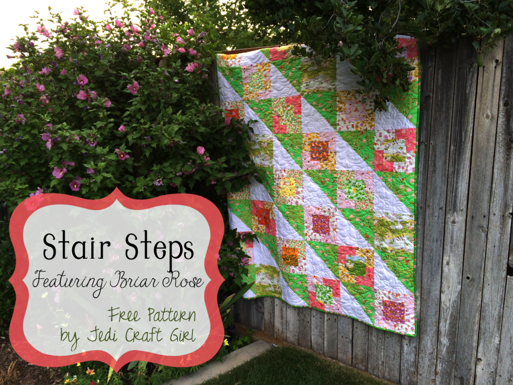 stair steps quilt pattern briar rose