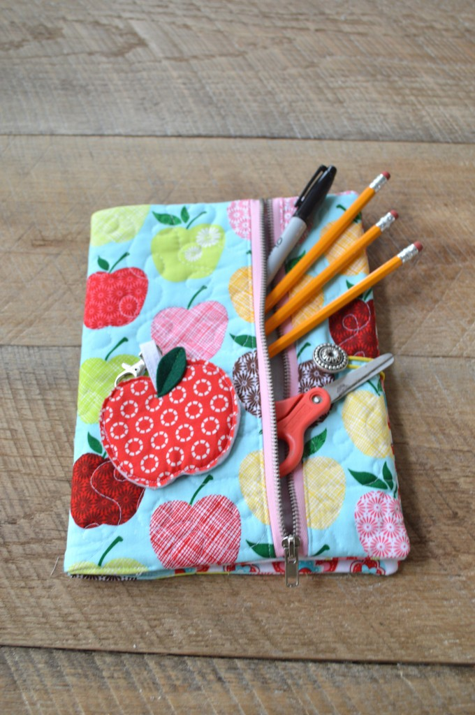 Book Cover Sewing Zip : Sew news composition book