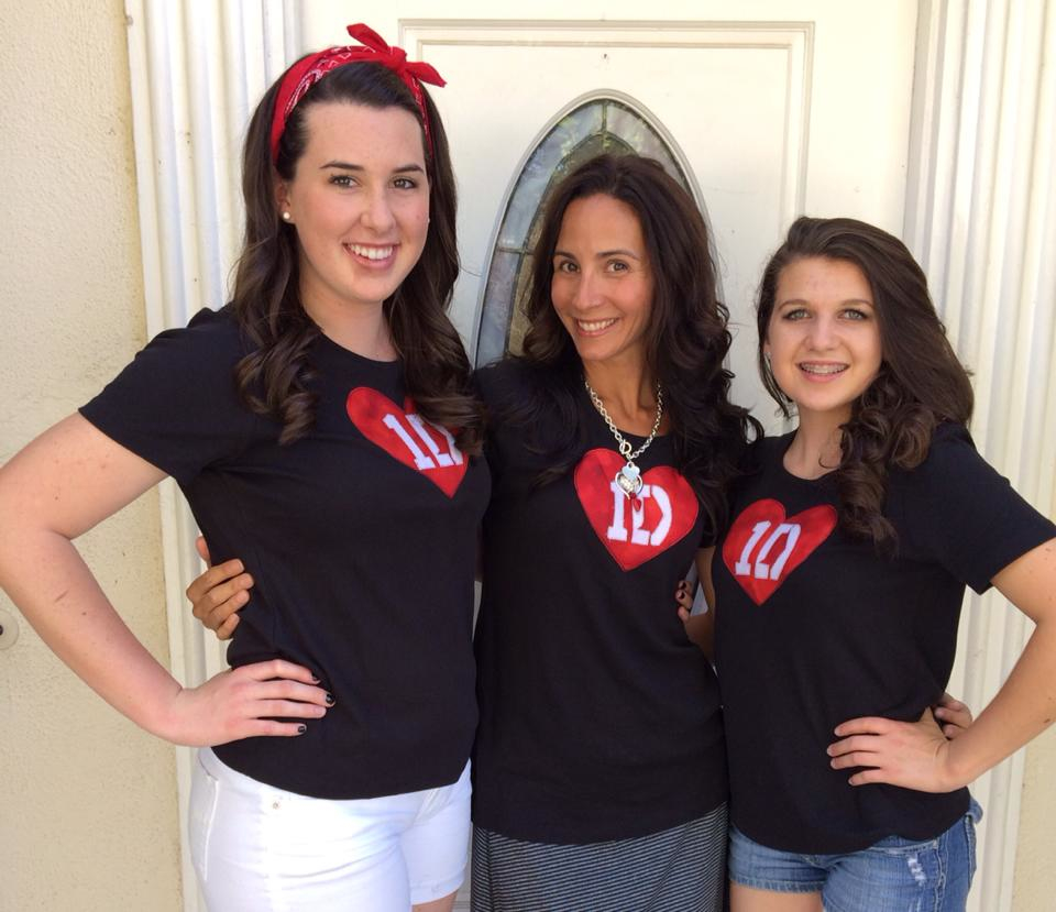 DIY one direction concert t-shirt 2
