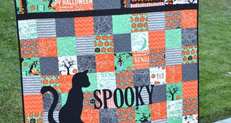 """""""Spooky"""" Quilt for Riley Blake Designs"""