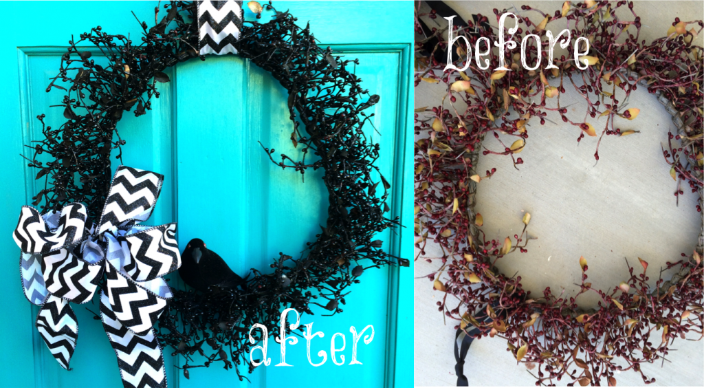 halloween wreath diy craft