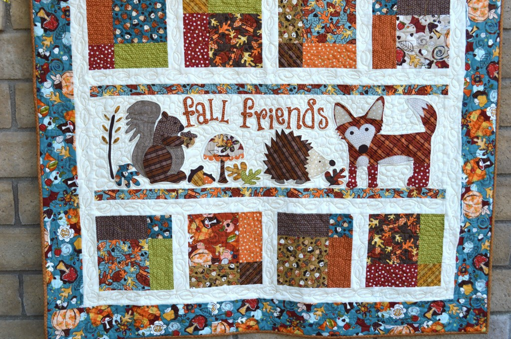 Fall Friends Applique Quilt