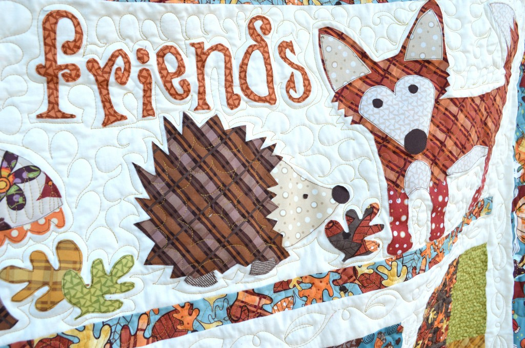 Fall Friends Applique Quilt_1