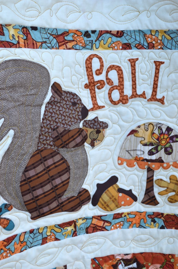 Fall Friends Applique Quilt_2