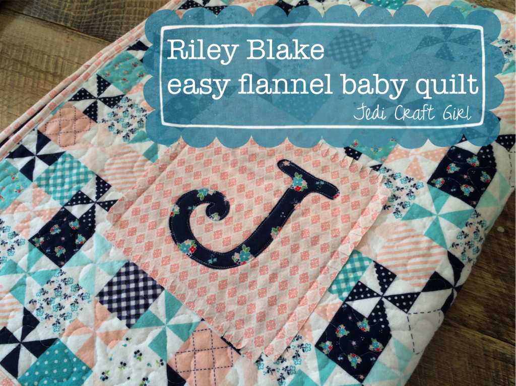 flannel baby quilt