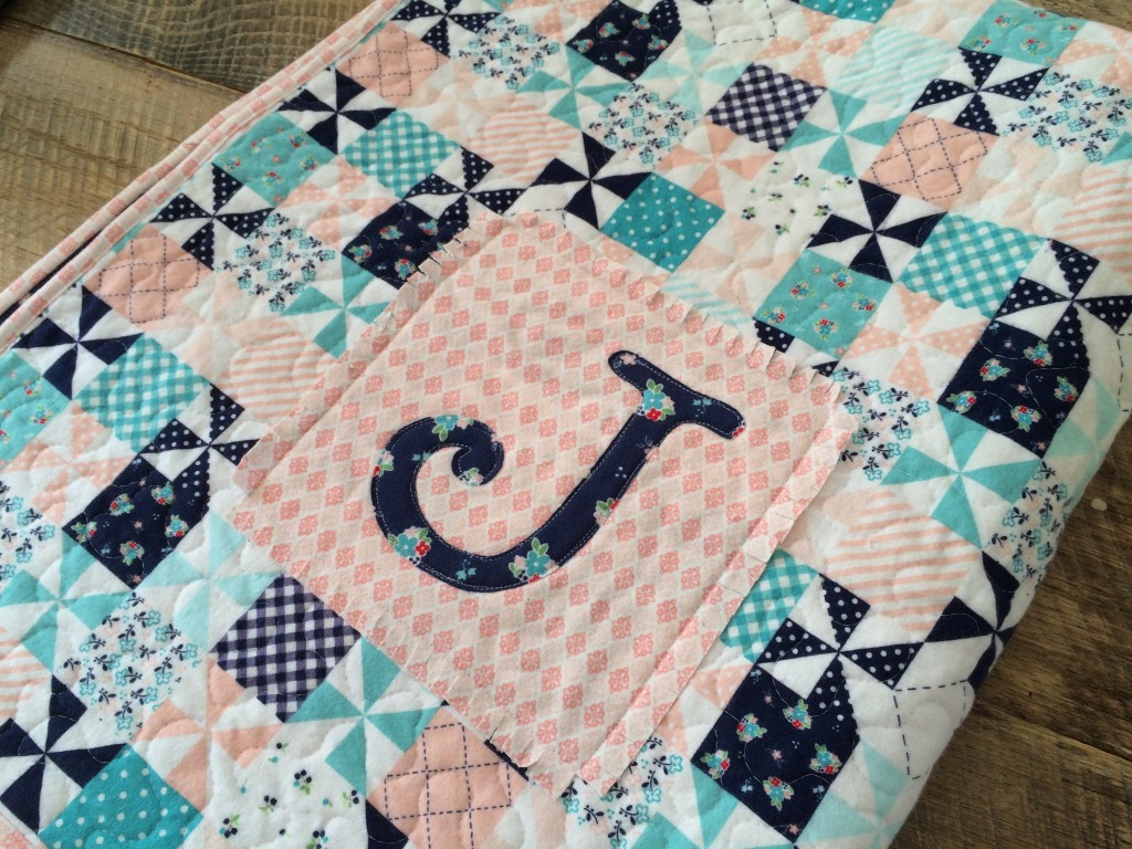 Riley Blake Flannel Baby Quilt and Burpers Tutorial : cute baby quilts - Adamdwight.com