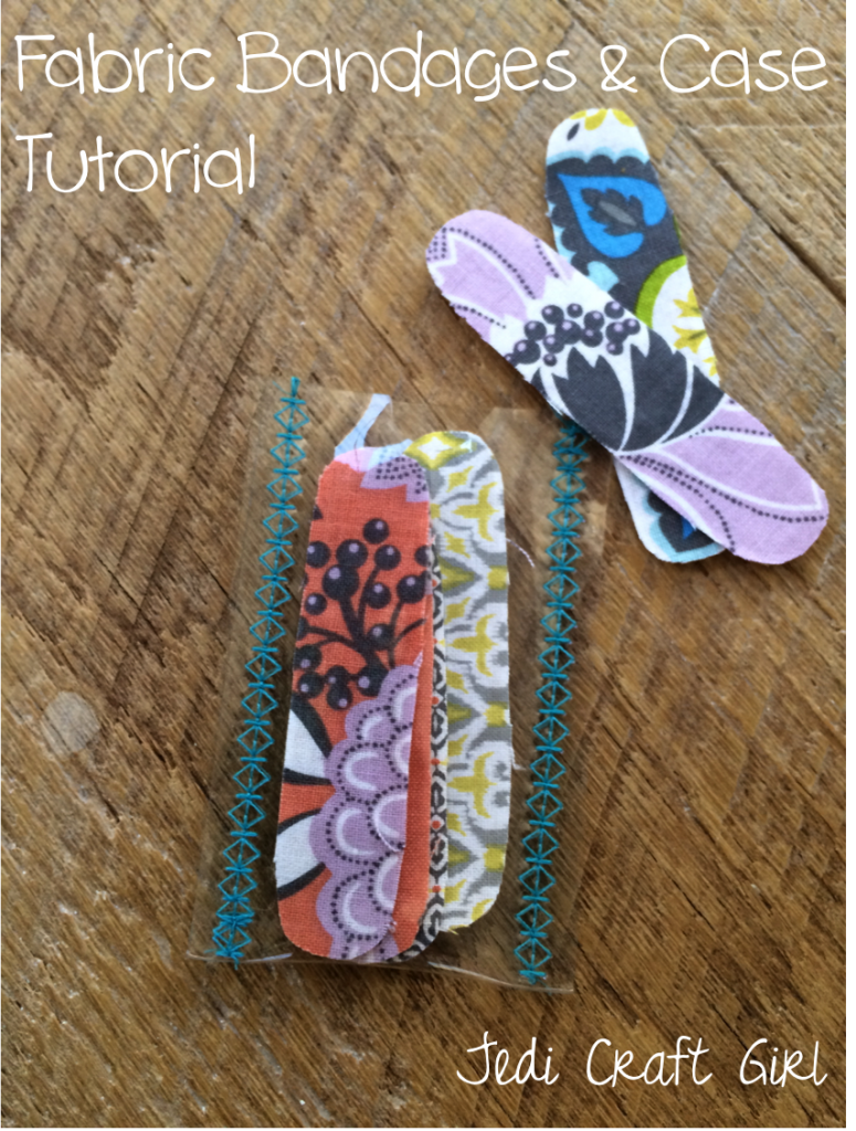 fabric bandages and case tutorial