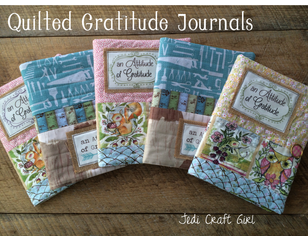 quilted gratitude journal tutorial