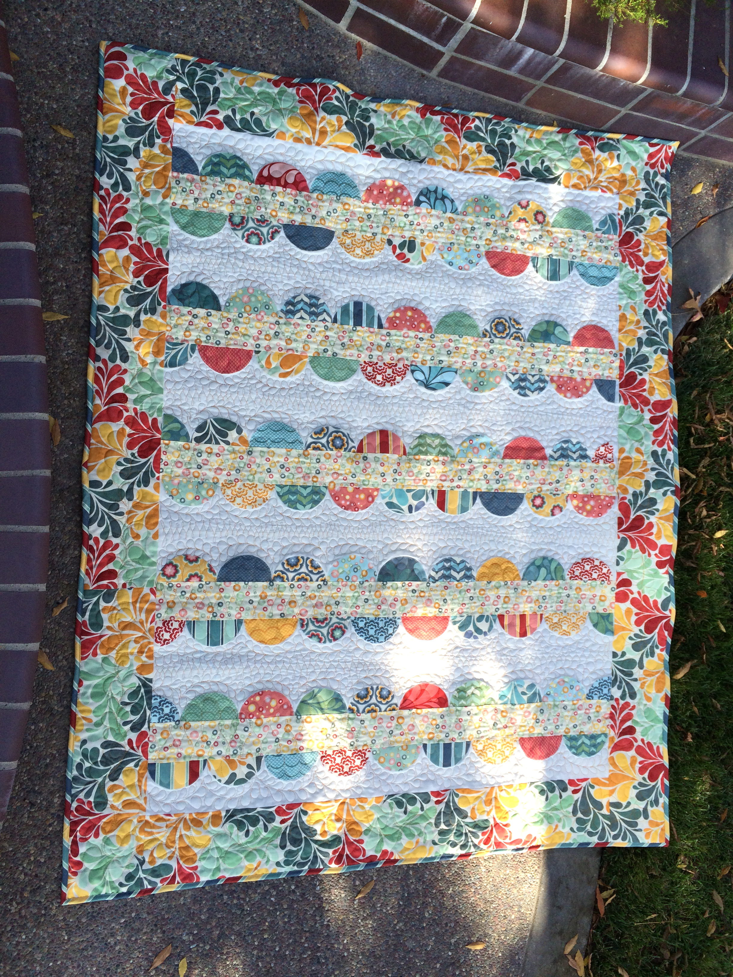 Salt Air Quilt With Lucy S Crab Shack Beach Blanket Pattern