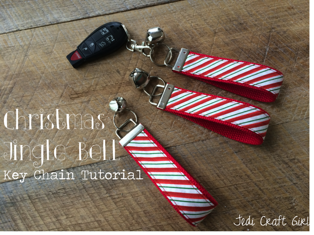 christmas key chain tutorial