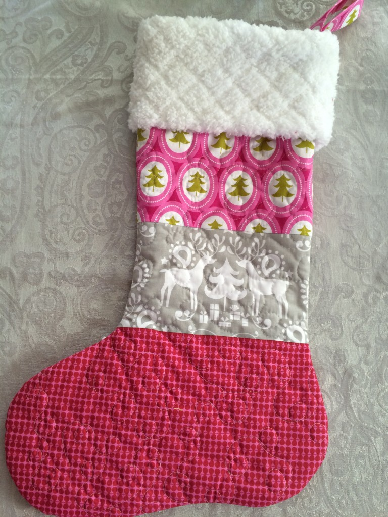 quilted christmas stocking 21