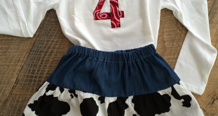Little Girl's Western Outfit