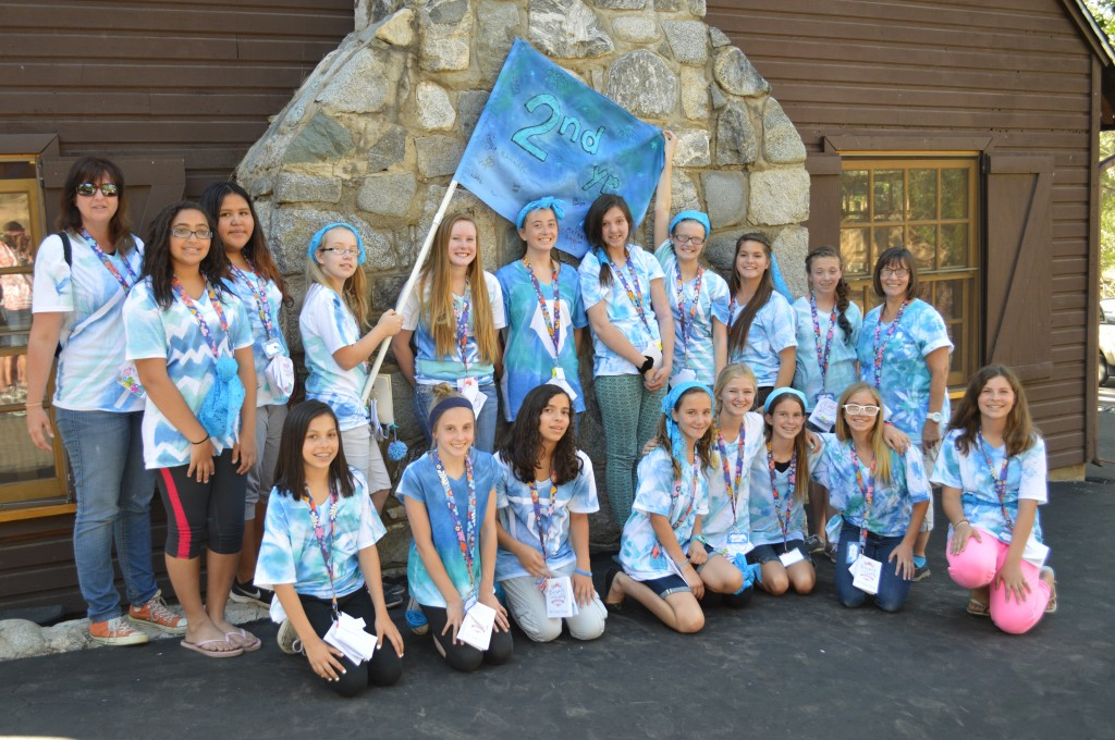 YW camp 2nd years