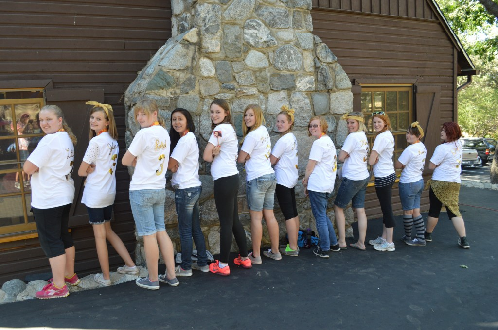 YW camp 3rd years