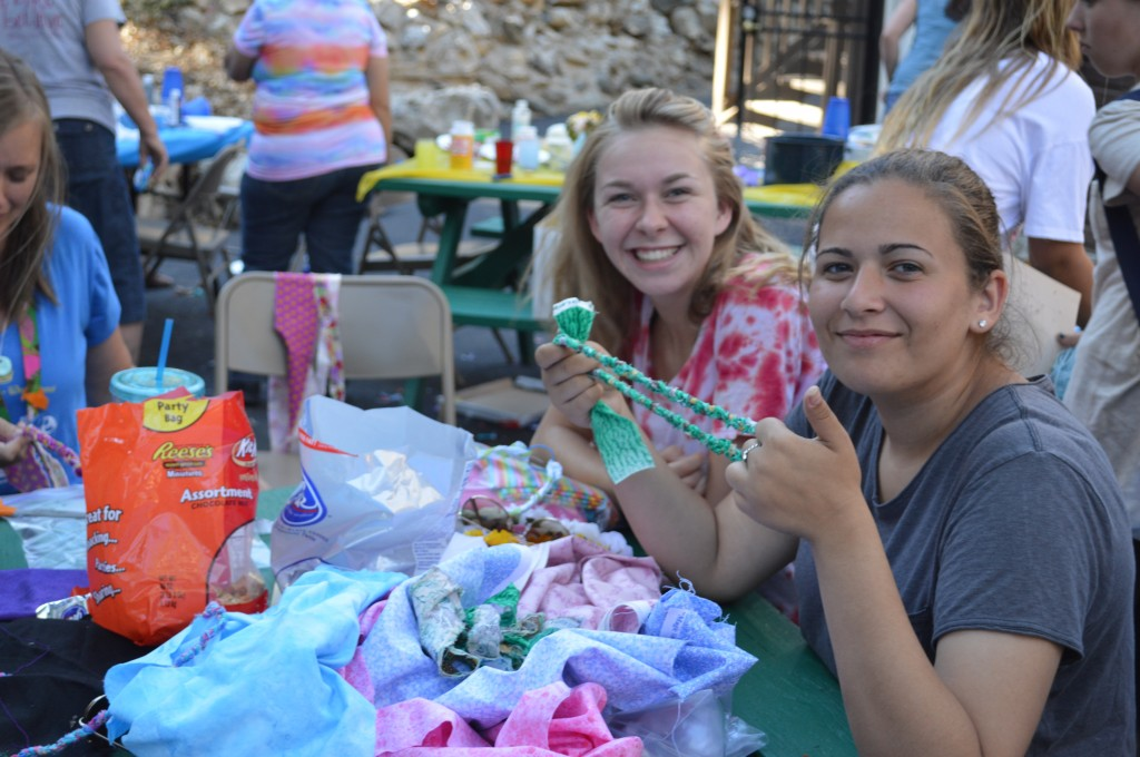 YW camp crafts 2