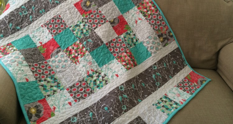 Birdies for Baby: Cottage Garden Baby Quilt Pattern