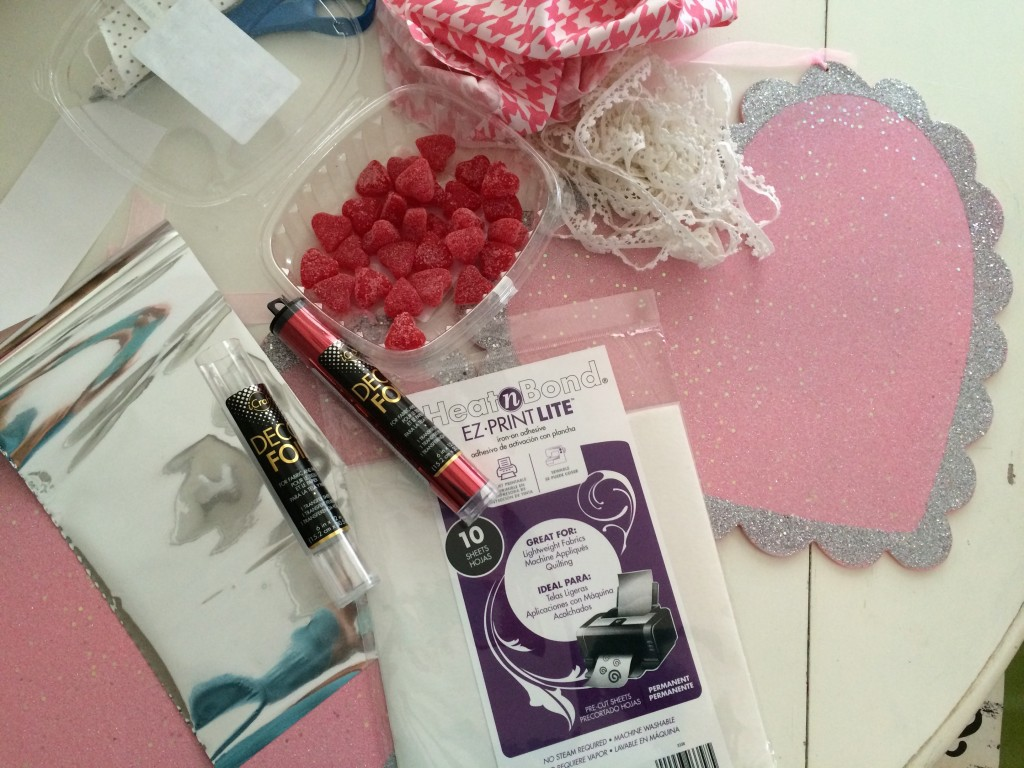 foil valentine craft