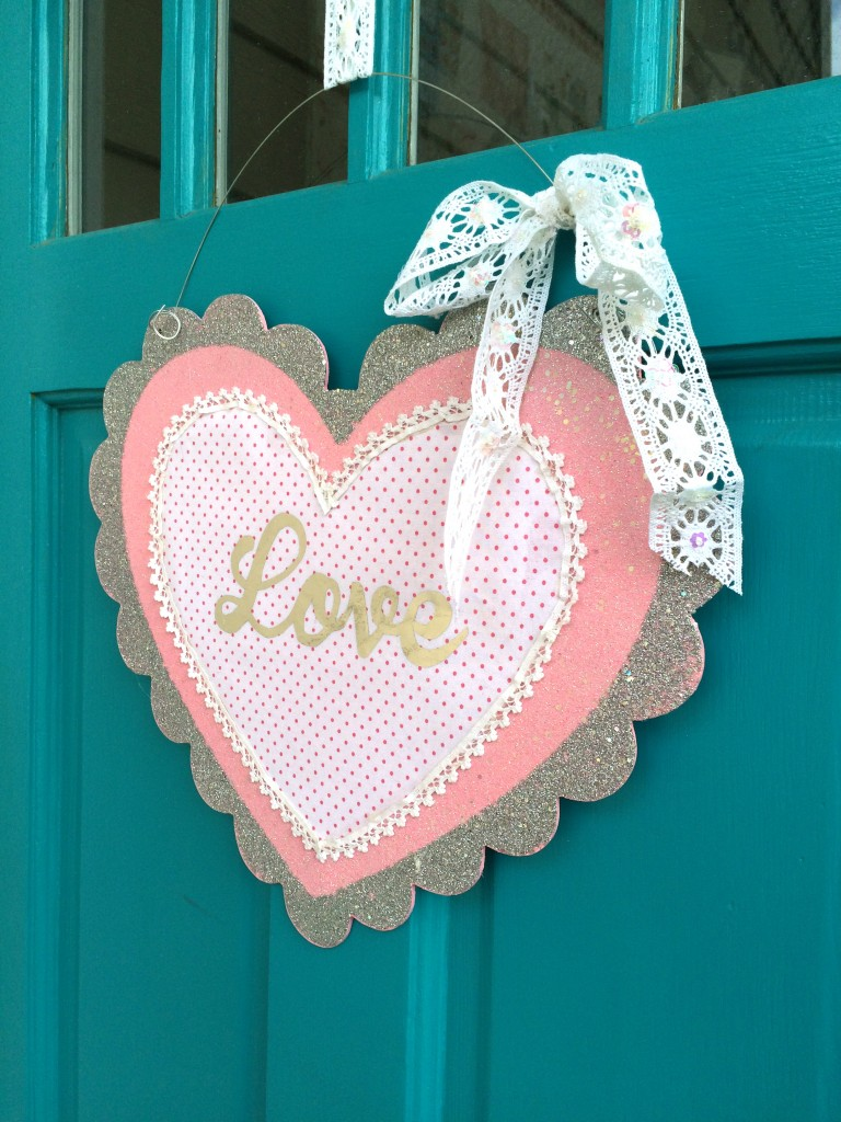 foil valentine craft 4
