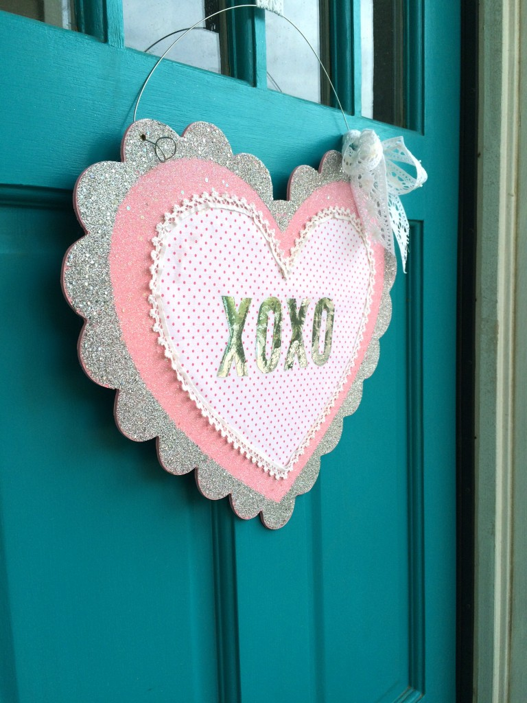 foil valentine craft 5