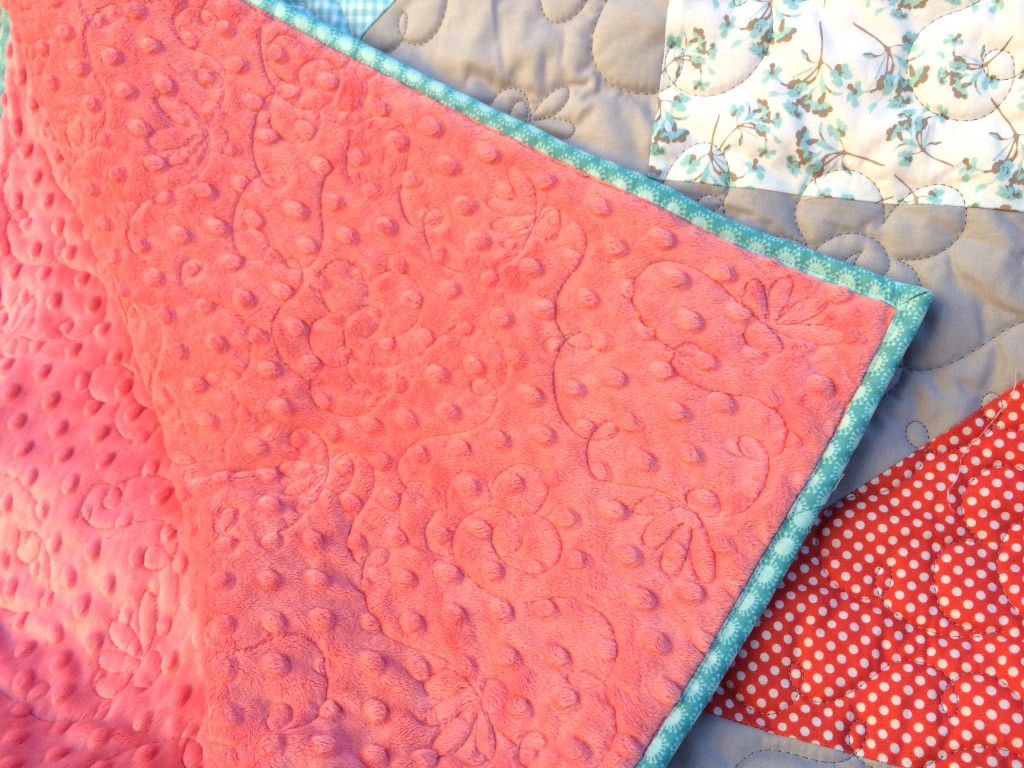 half square triangle quilt 2