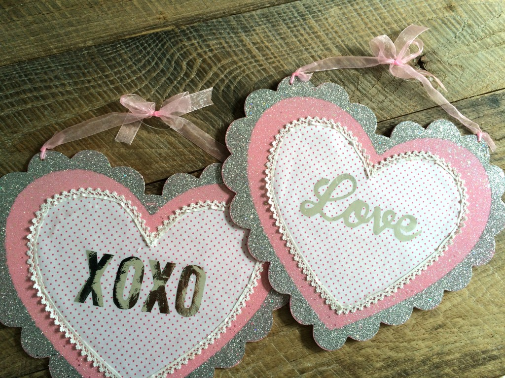 valentine foli craft