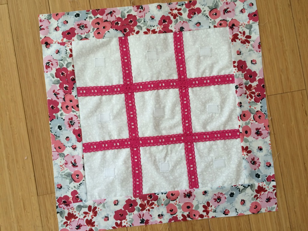 tic tac toe valentine pillow 12