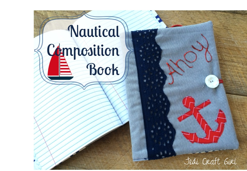 nautical anchor composition book tutorial