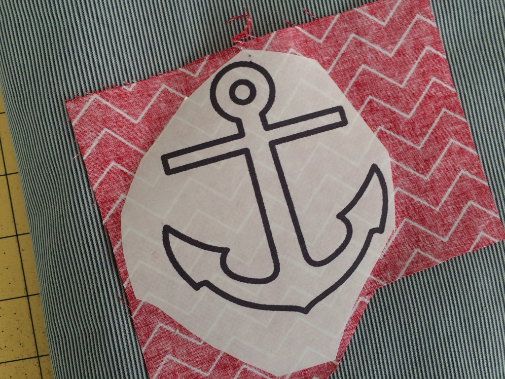 nautical composition book applique